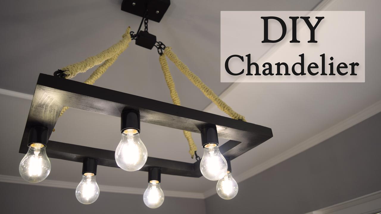 Diy rustic hemp rope chandelier for 35 creativity hero arubaitofo Image collections