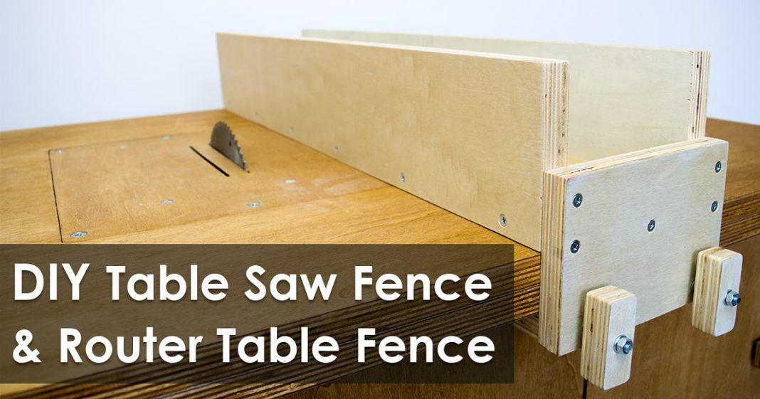 How to make a table saw fence and router table fence for homemade how to make a table saw fence and router table fence for homemade workbench free plan keyboard keysfo Images