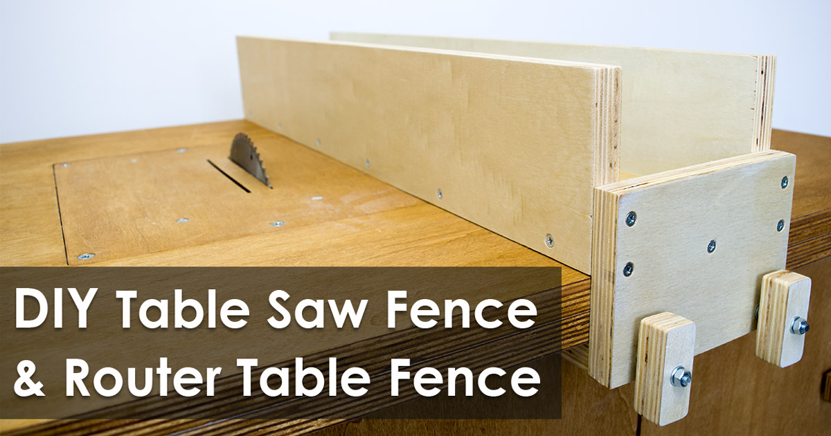 How to make a table saw fence and router table fence for homemade how to make a table saw fence and router table fence for homemade workbench free plan creativity hero greentooth