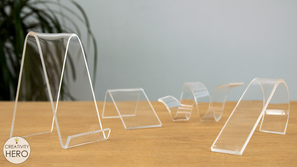 How to Bend Acrylic and Make Amazing Shapes 23 - Different shapes out of acrylic